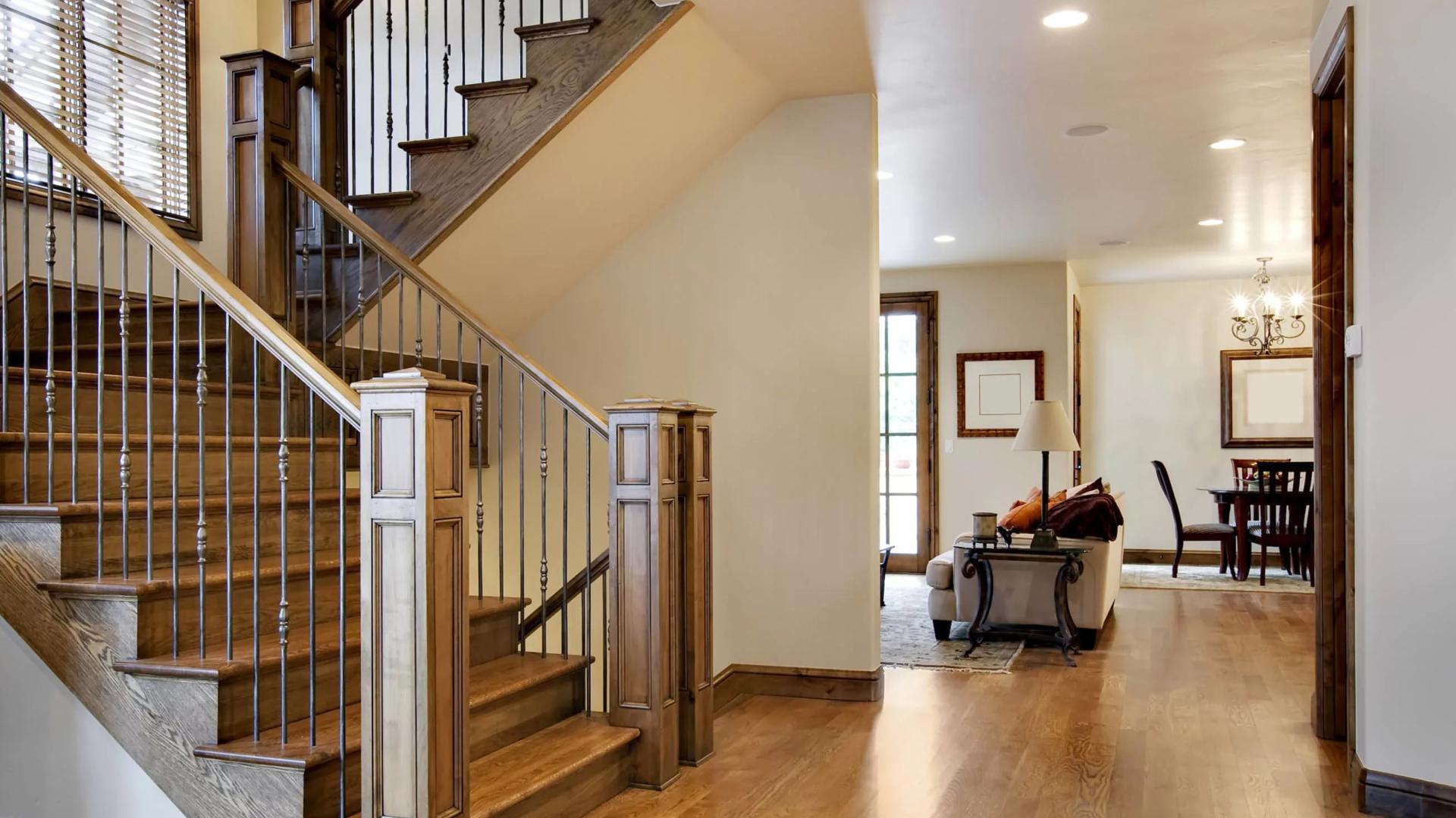 recouvrement d'escaliers</br>et rampes intérieures